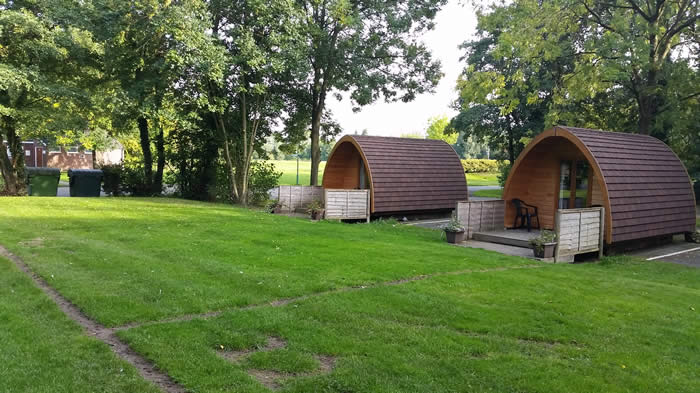 Lower Lacon Caravan Park Family Camping Pods