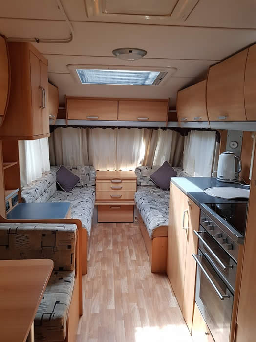 Swift Sterling Europa 540